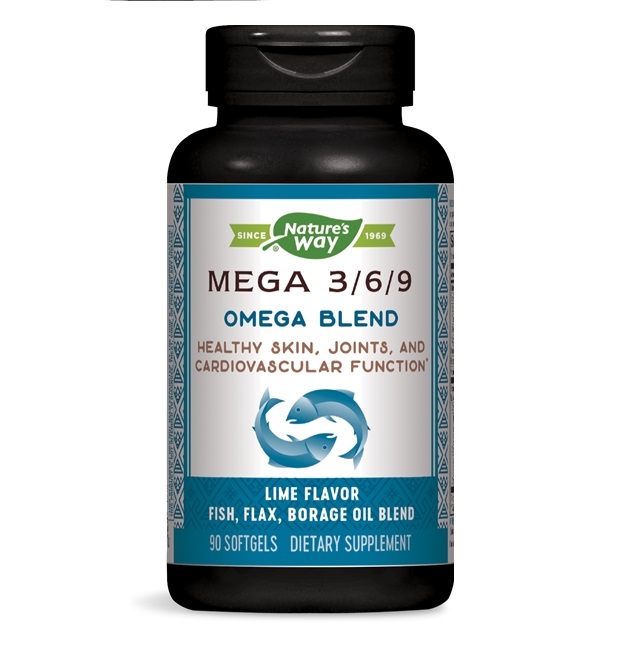 Nature′s Way Mega 3/6/9 Omega Blend 1450mg 90caps