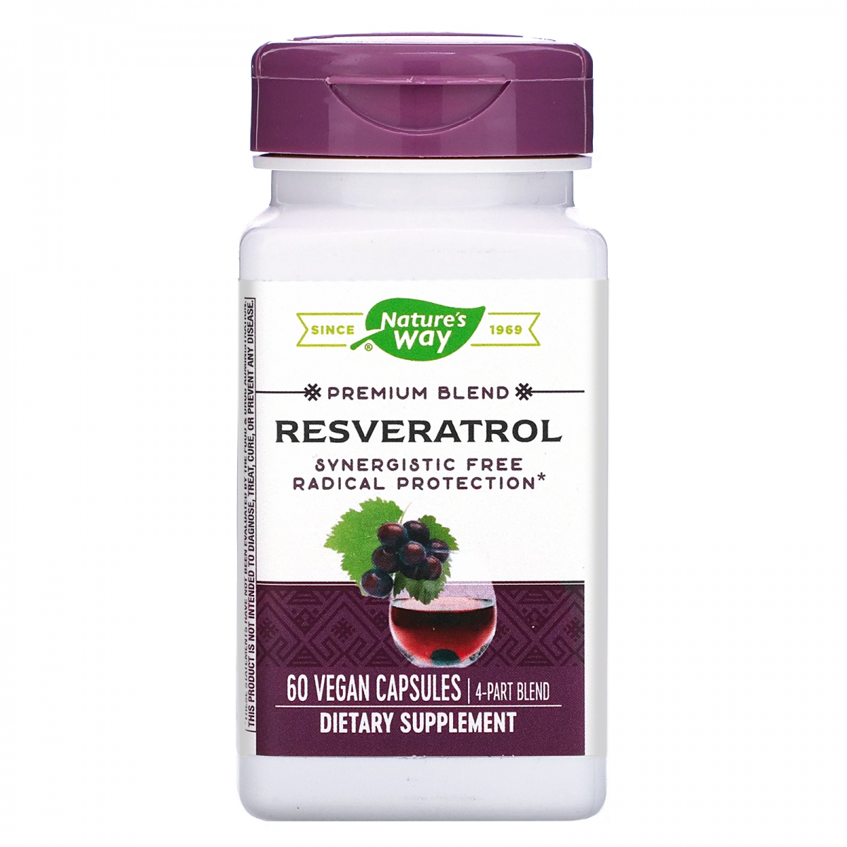 Nature′s Way Resveratrol 325mg 60caps