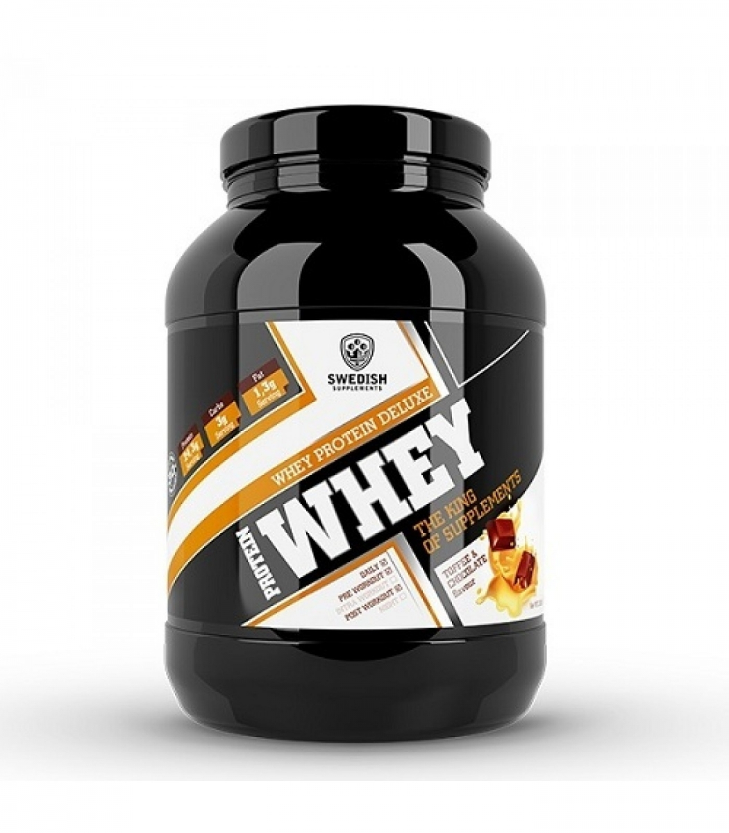 SWEDISH Supplements Whey Protein Deluxe 1000g