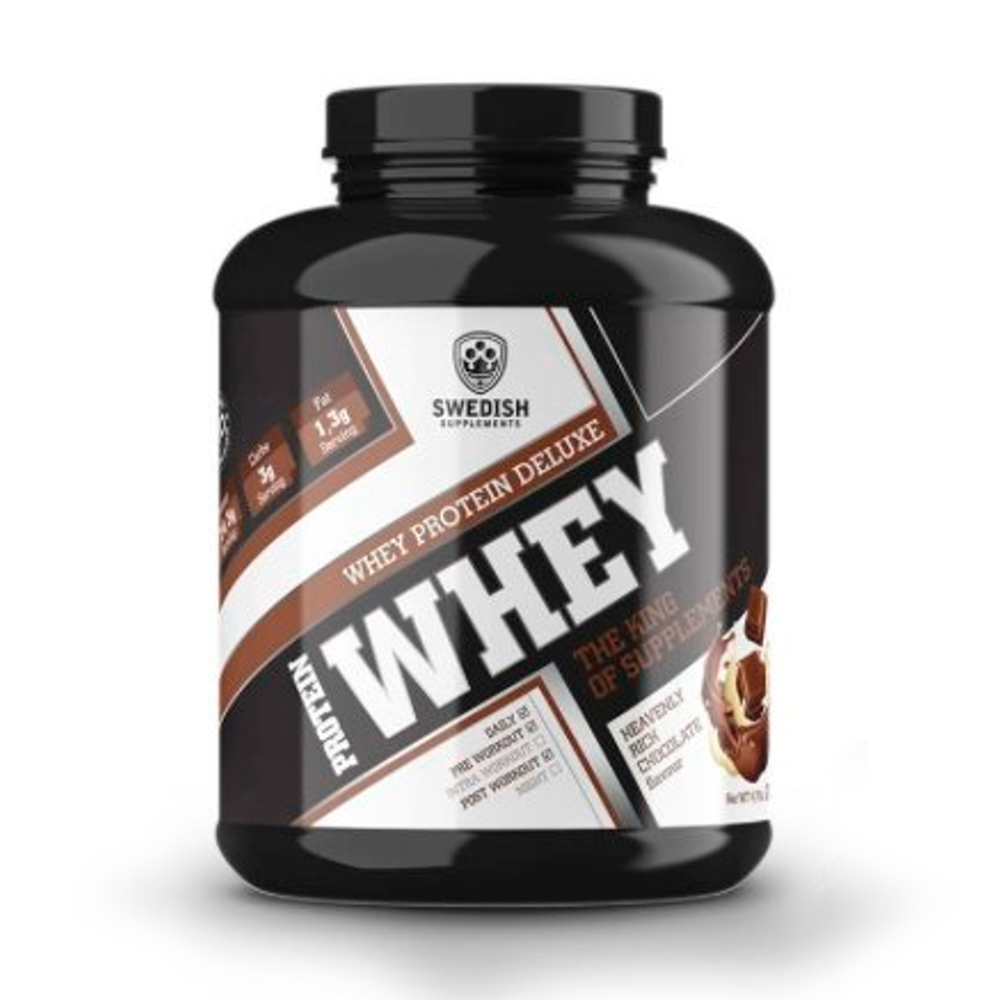 SWEDISH Supplements Whey Protein Deluxe 2000g