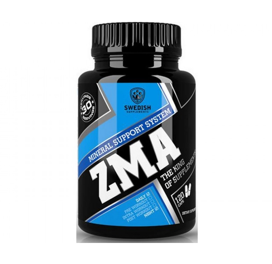 SWEDISH Supplements Zma 120caps