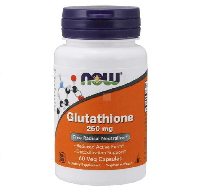 NOW Glutathione 500mg 60 Caps