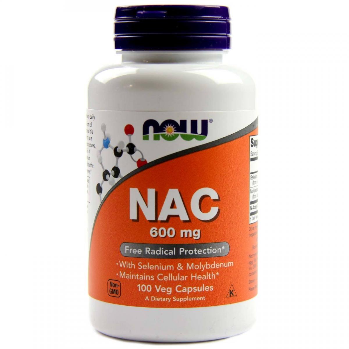 NOW N-acetyl Cysteine 600mg