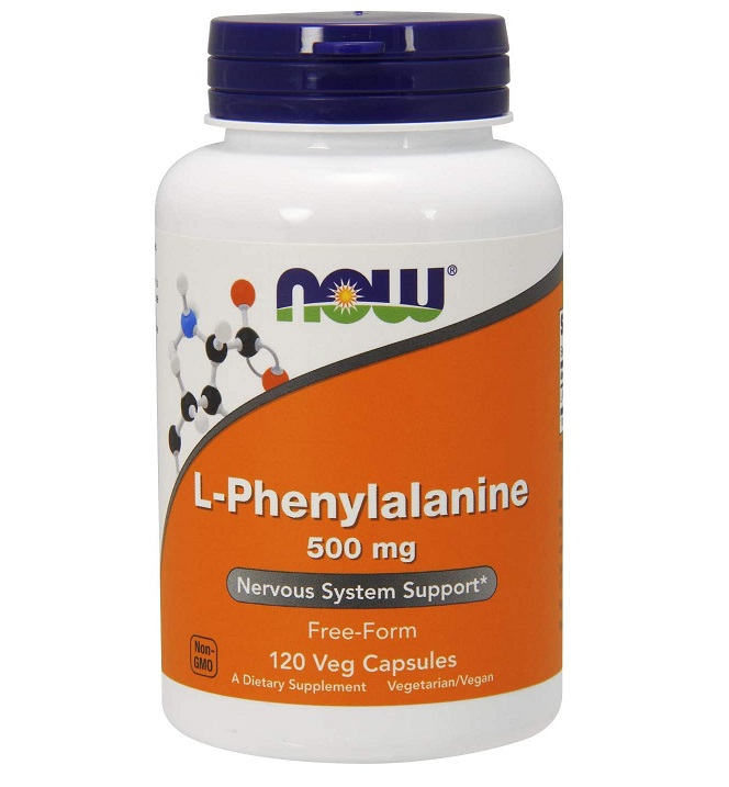 NOW L-phenylalanine 500mg