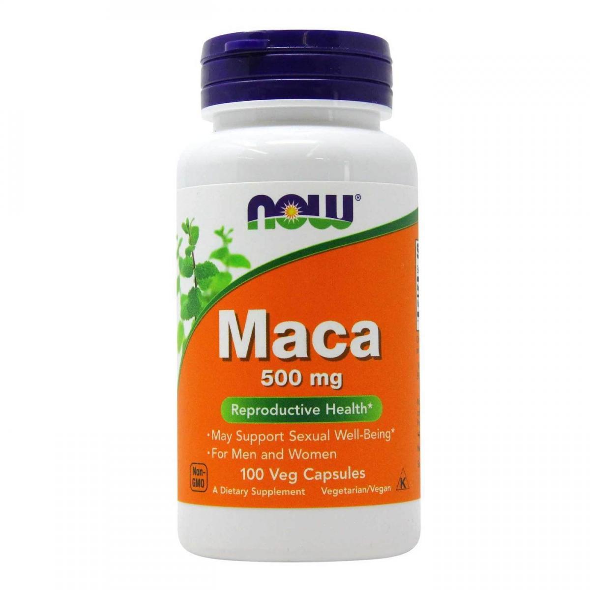 NOW Maca 500mg 100caps