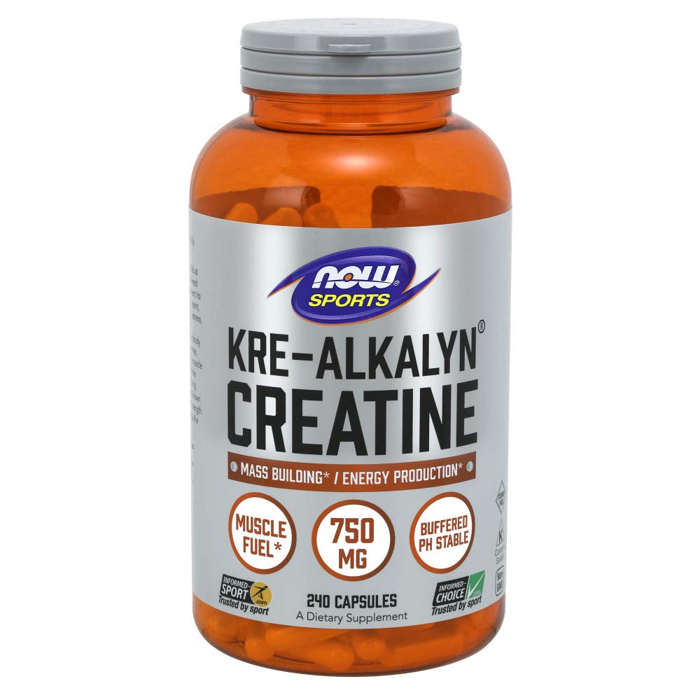 NOW Kre-alkalyn Creatine 750mg