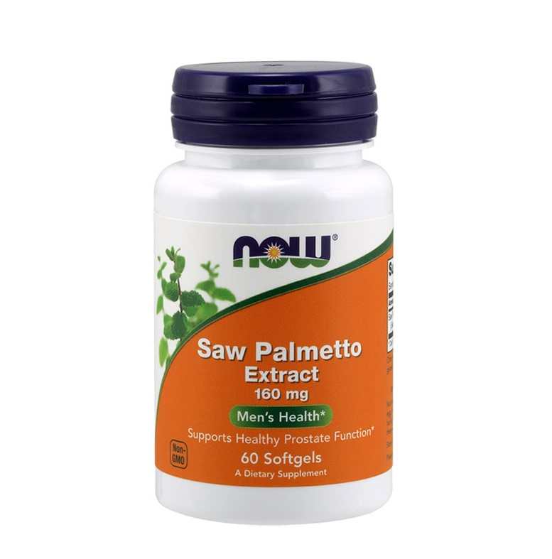 NOW Saw Palmetto Extract 160mg 60tabs