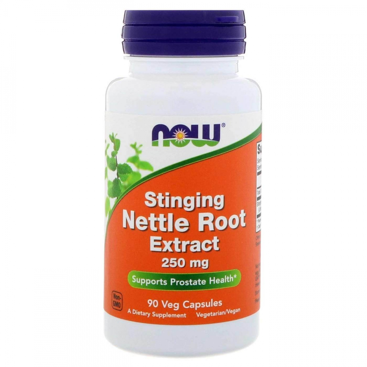 NOW Nettle Root Extract 250mg 90caps