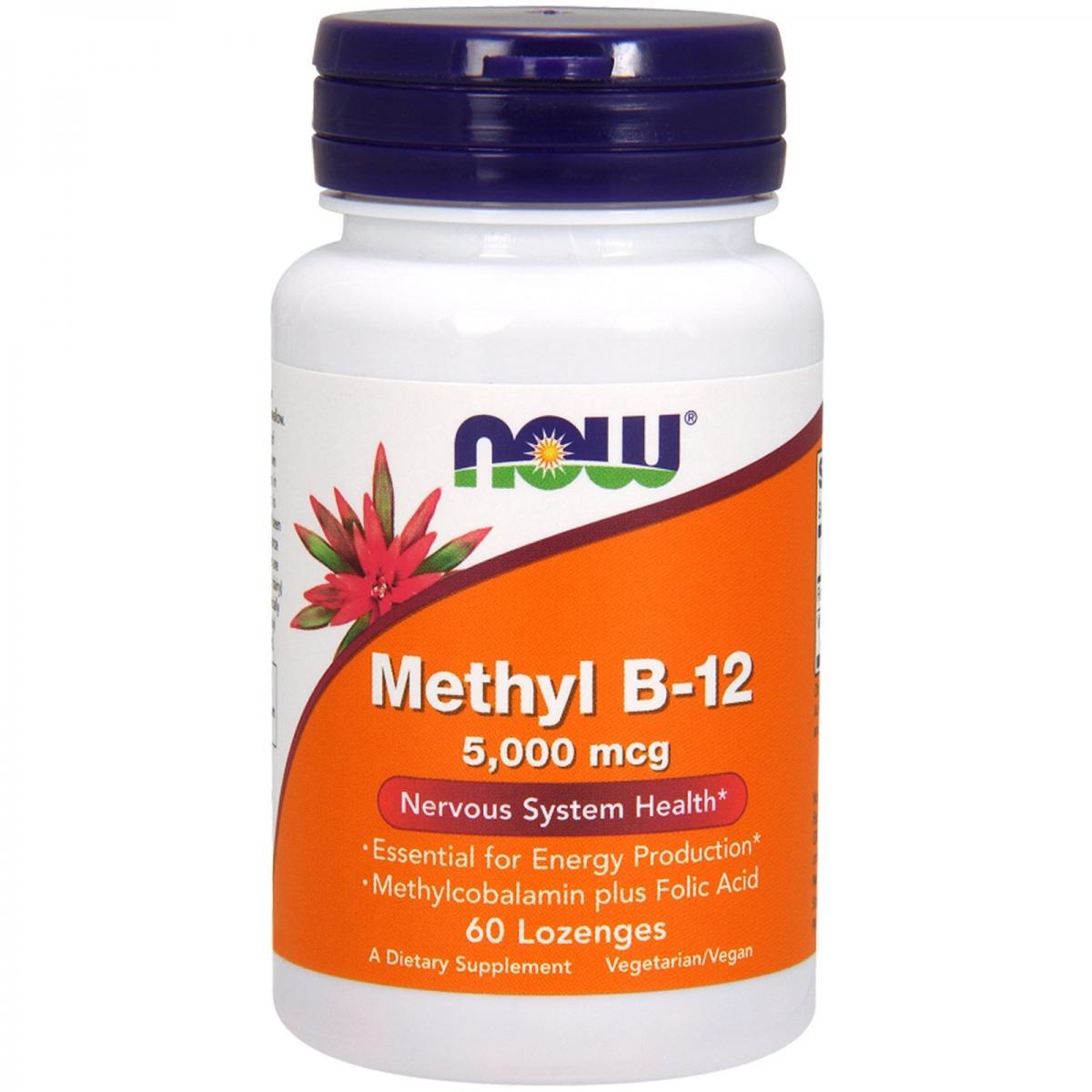 NOW Methyl B-12 5000mcg