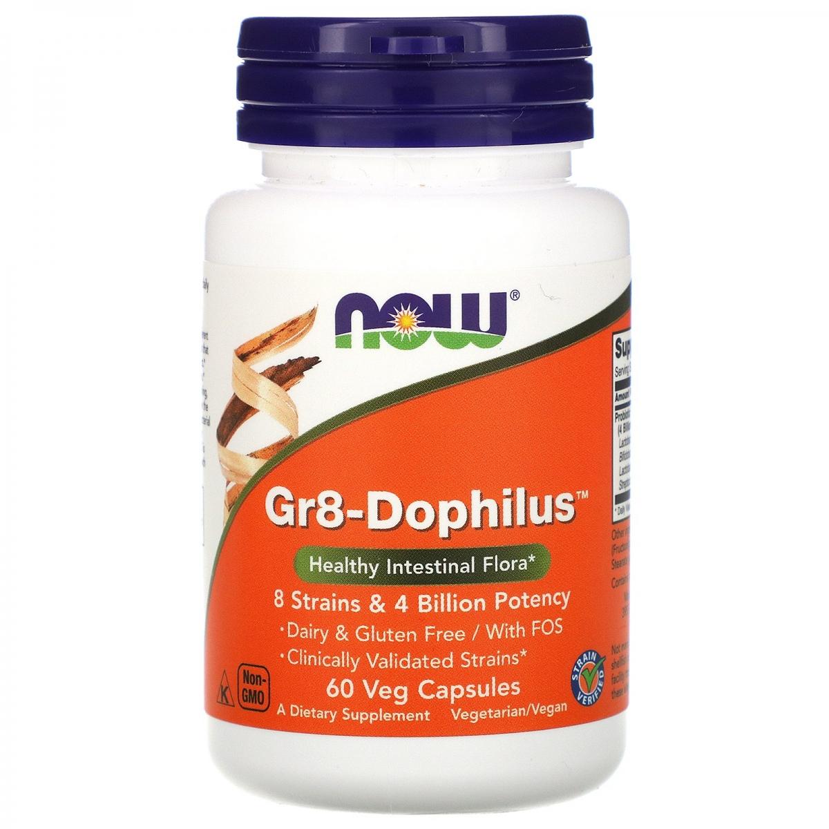 NOW Gr 8 Dophilus 60caps