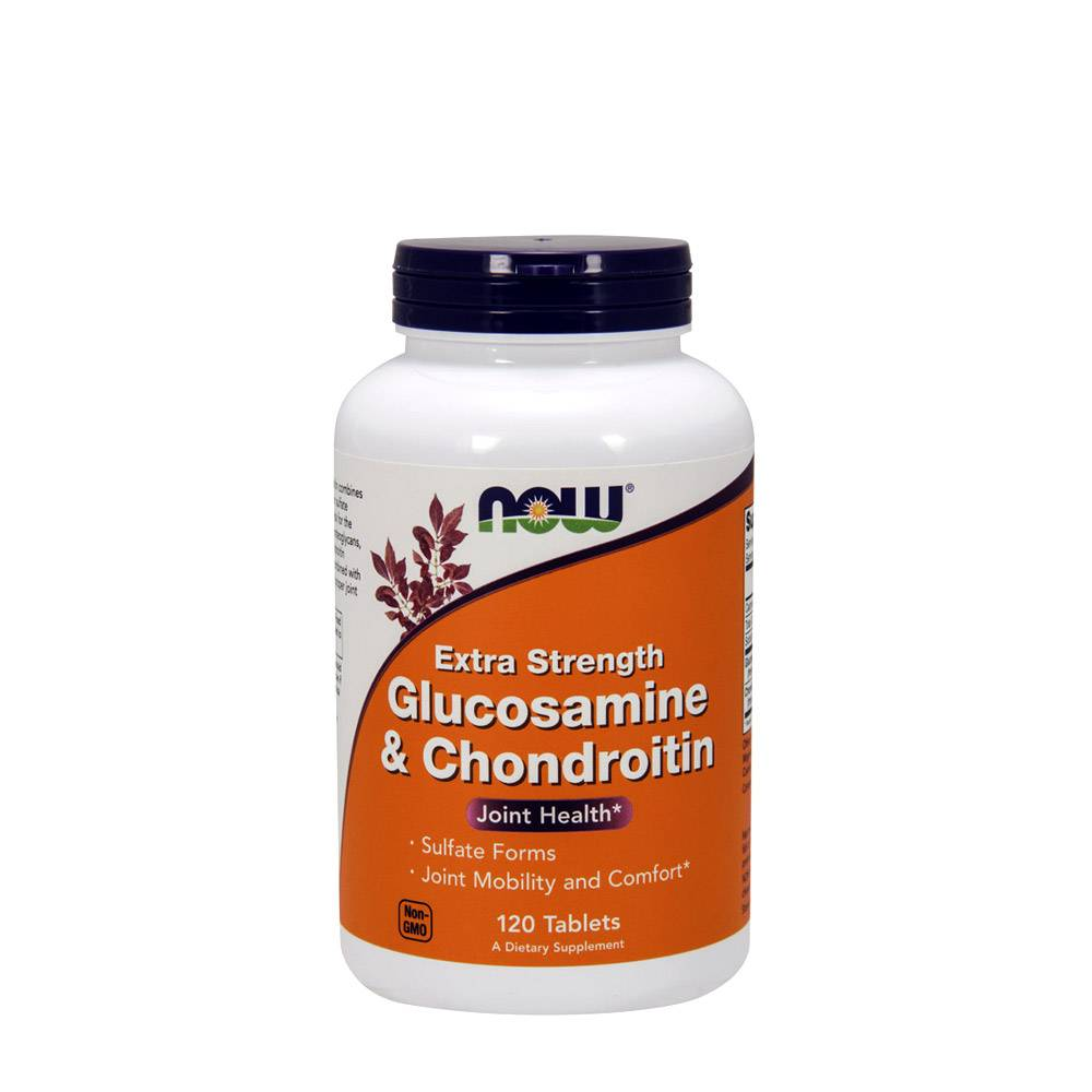 NOW Glucosamine & Chondroitin 750 600mg