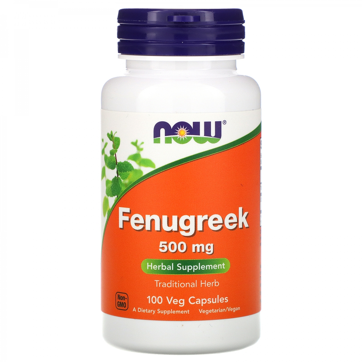 NOW Fenugreek 500mg 100caps