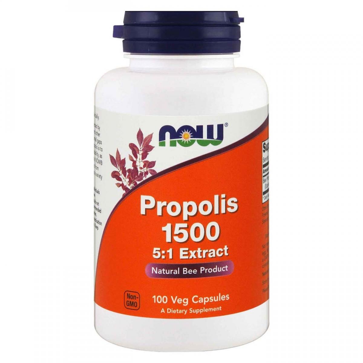NOW Propolis 500mg 100caps