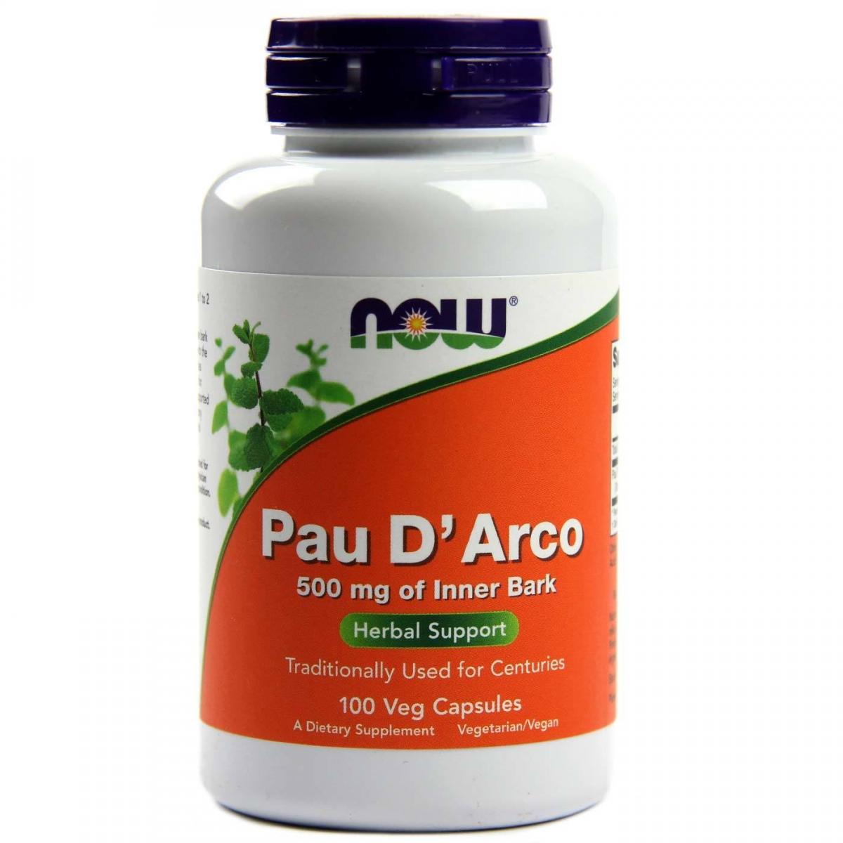 NOW Pau D′arco 500mg