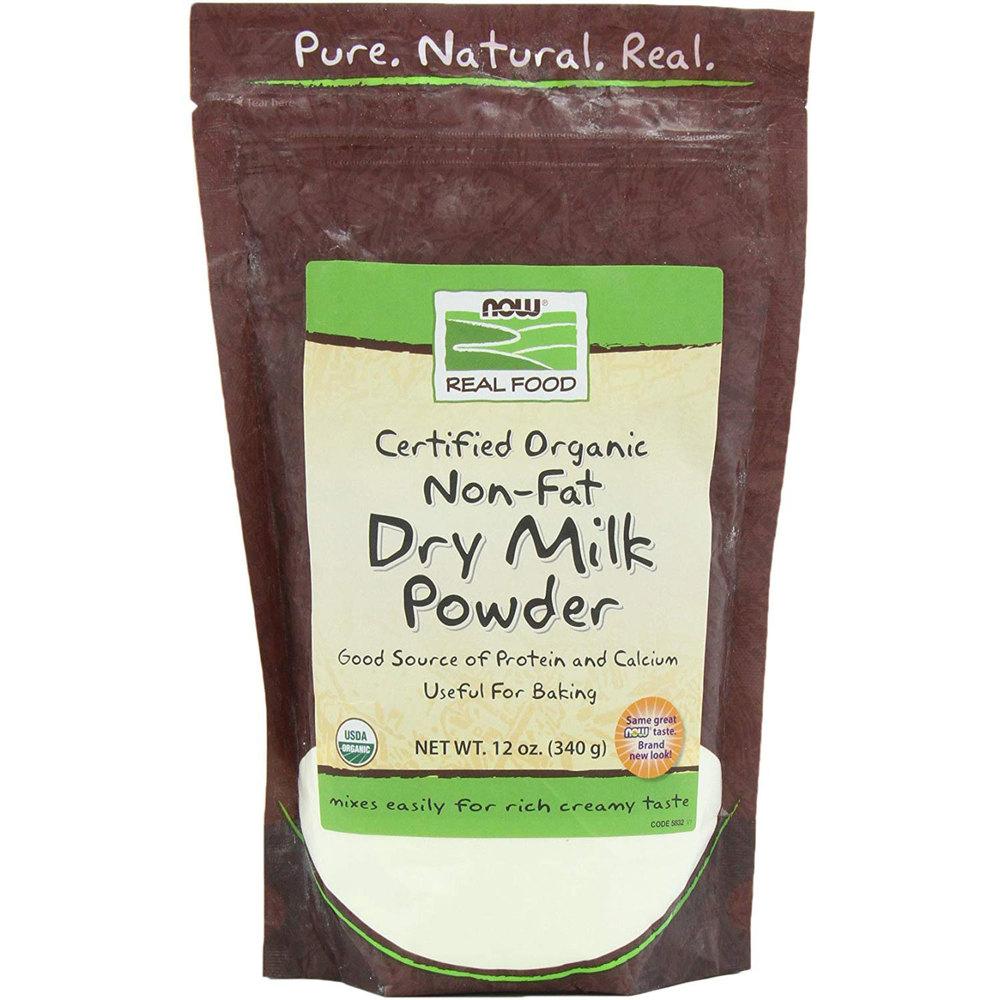 Organic Dry Milk With Protein & Calcium Non Fat 341g