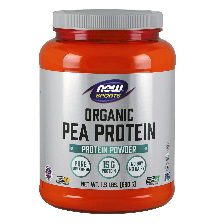 NOW Organic Pea Protein 680g