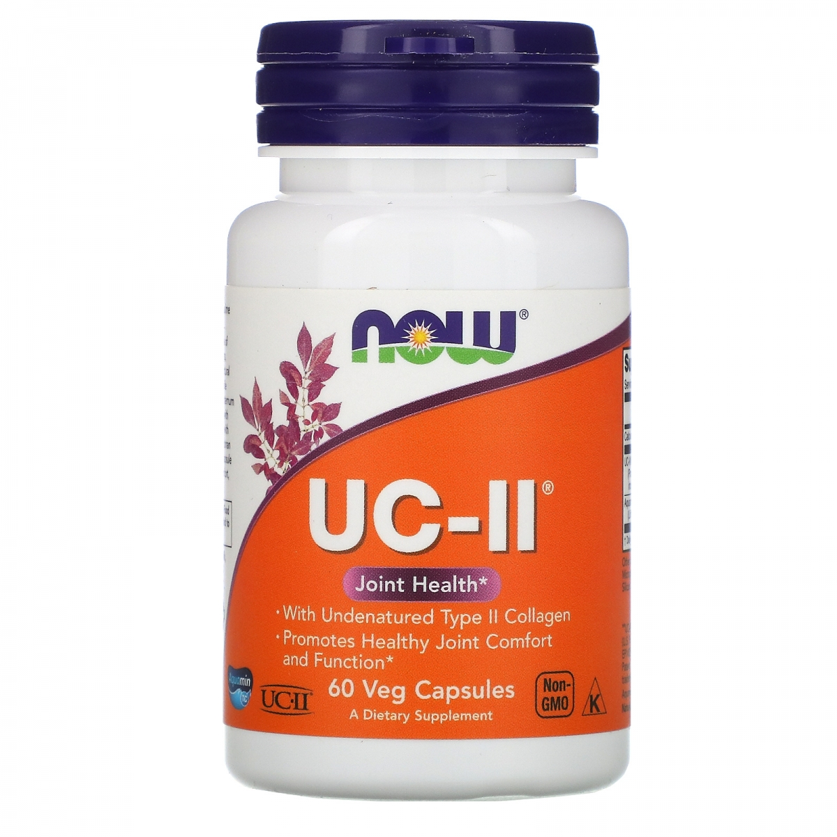 NOW Uc-ii Type Collagen 40mg 60caps