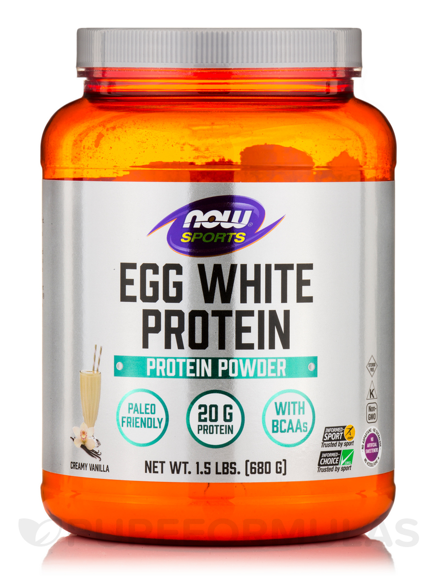 NOW Egg White Protein 680g