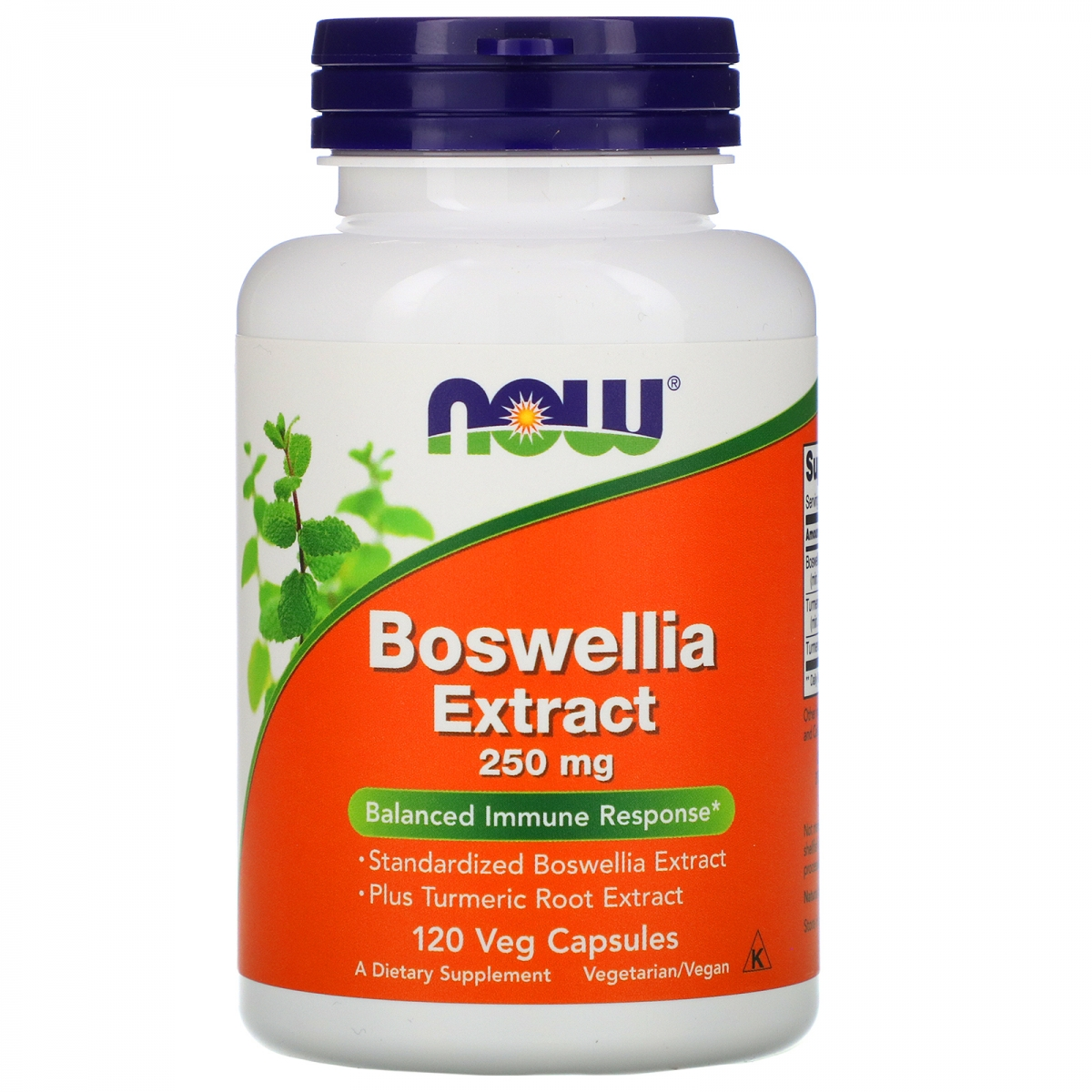 NOW Boswellia Extract 120caps