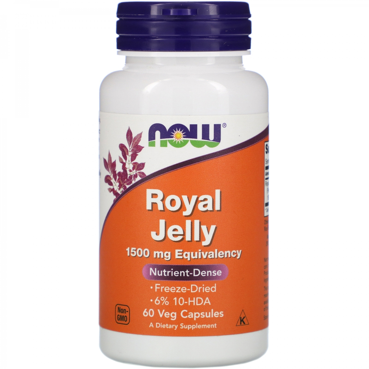 NOW Royal Jelly 1500mg 60caps