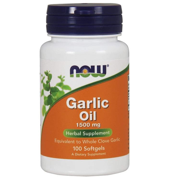 NOW Garlic Oil 1500mg 100caps