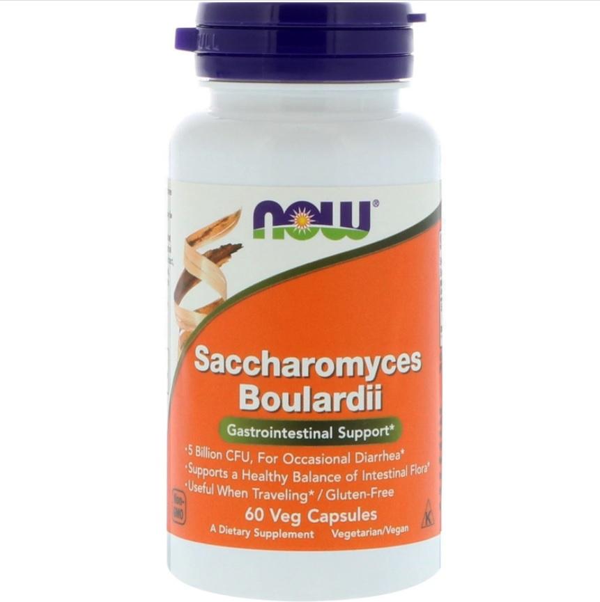 NOW Saccharomyces Boulardii 60caps