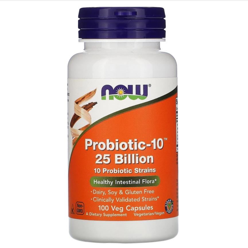NOW Probiotic-10 25 Billion 100caps