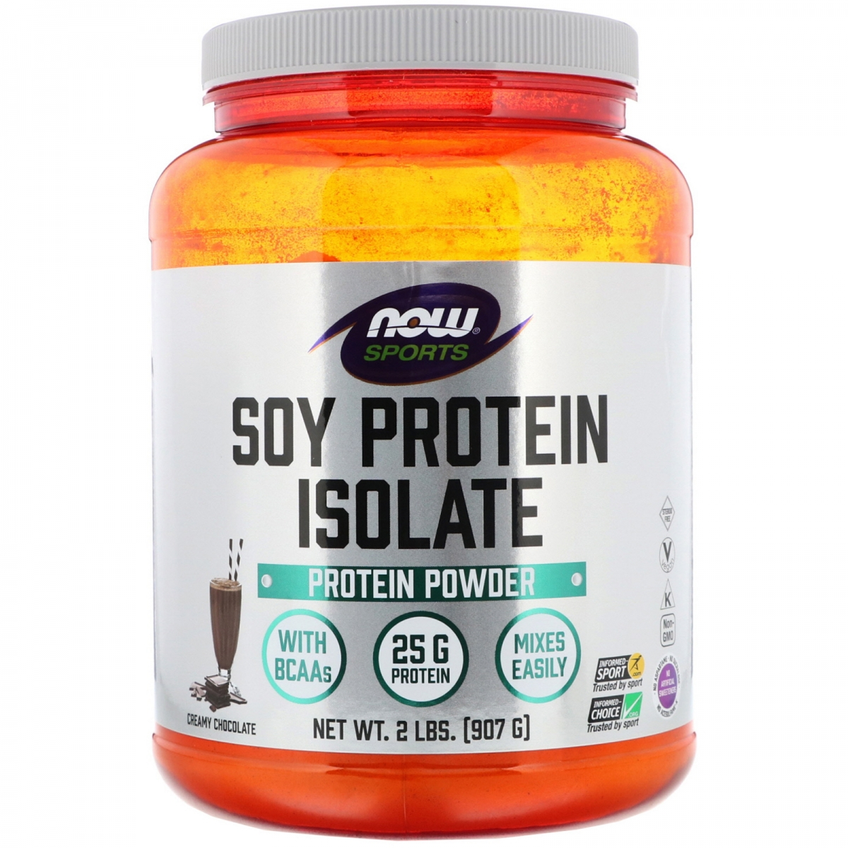 NOW Soy Protein Isolate 907g