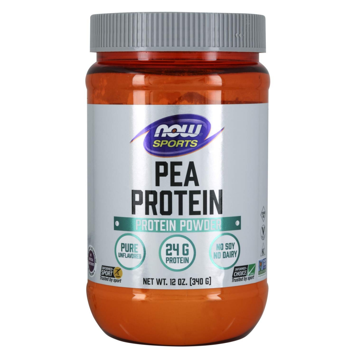 NOW Pea Protein 340g