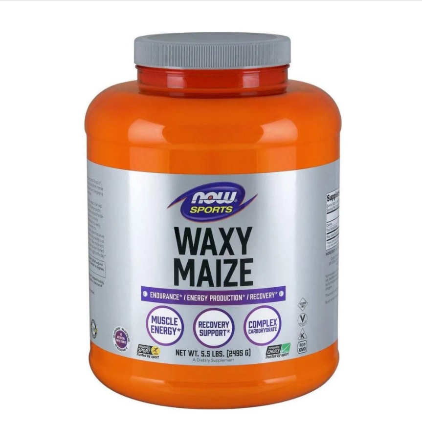 NOW Waxy Maize 2,4kg