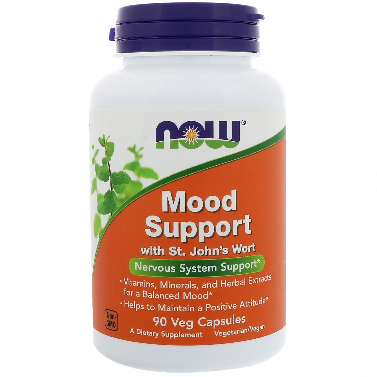NOW Mood Support With St. John′s Wort 90caps