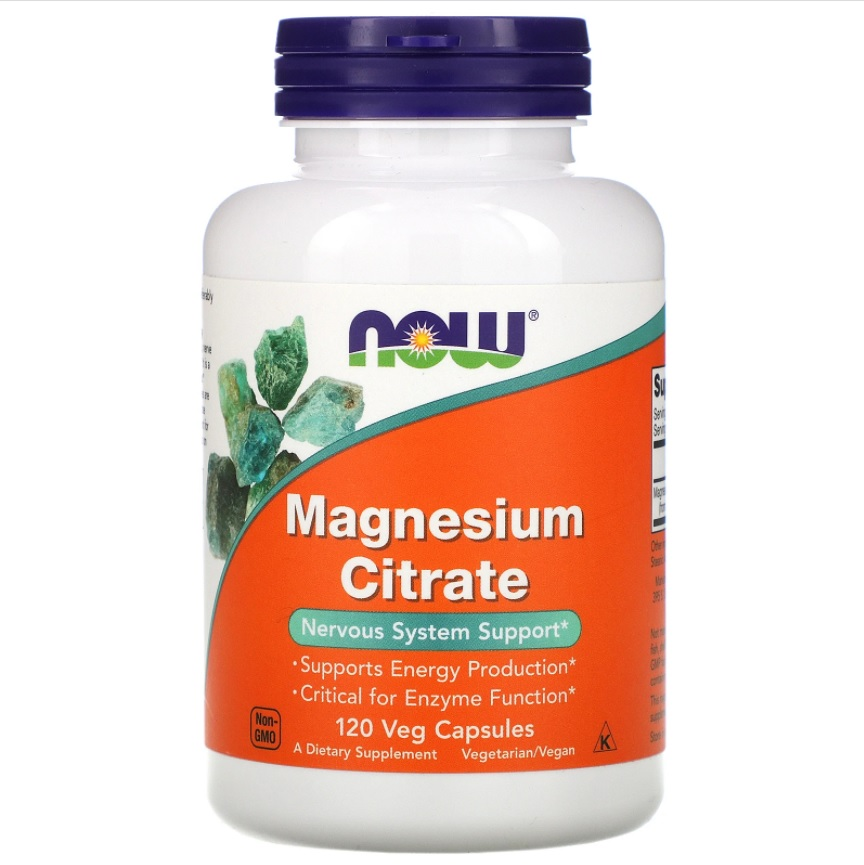 NOW Magnesium Citrate 167mg 120caps