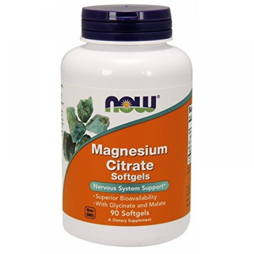 NOW Magnesium Citrate 134mg 90caps