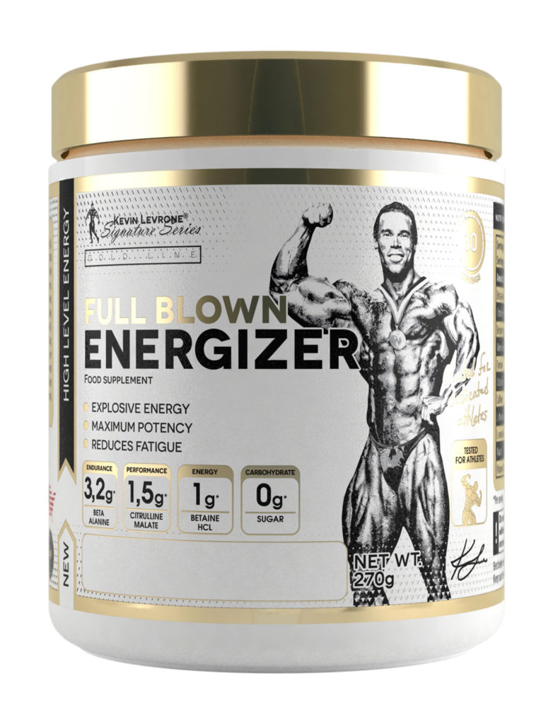 KEVIN LEVRONE Gold Line Full Blown Energizer Pre-workout 270g