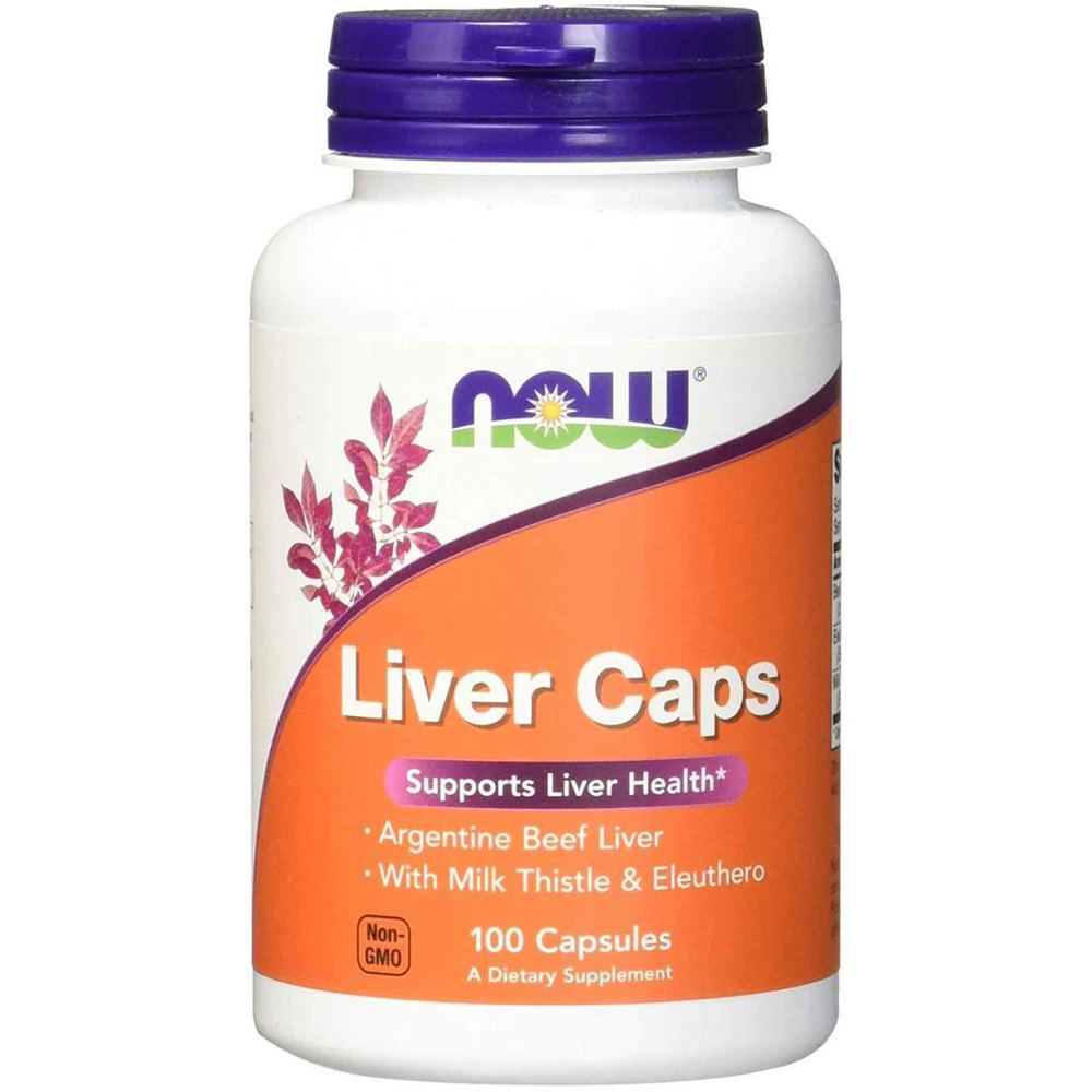 NOW Liver Extract 100caps
