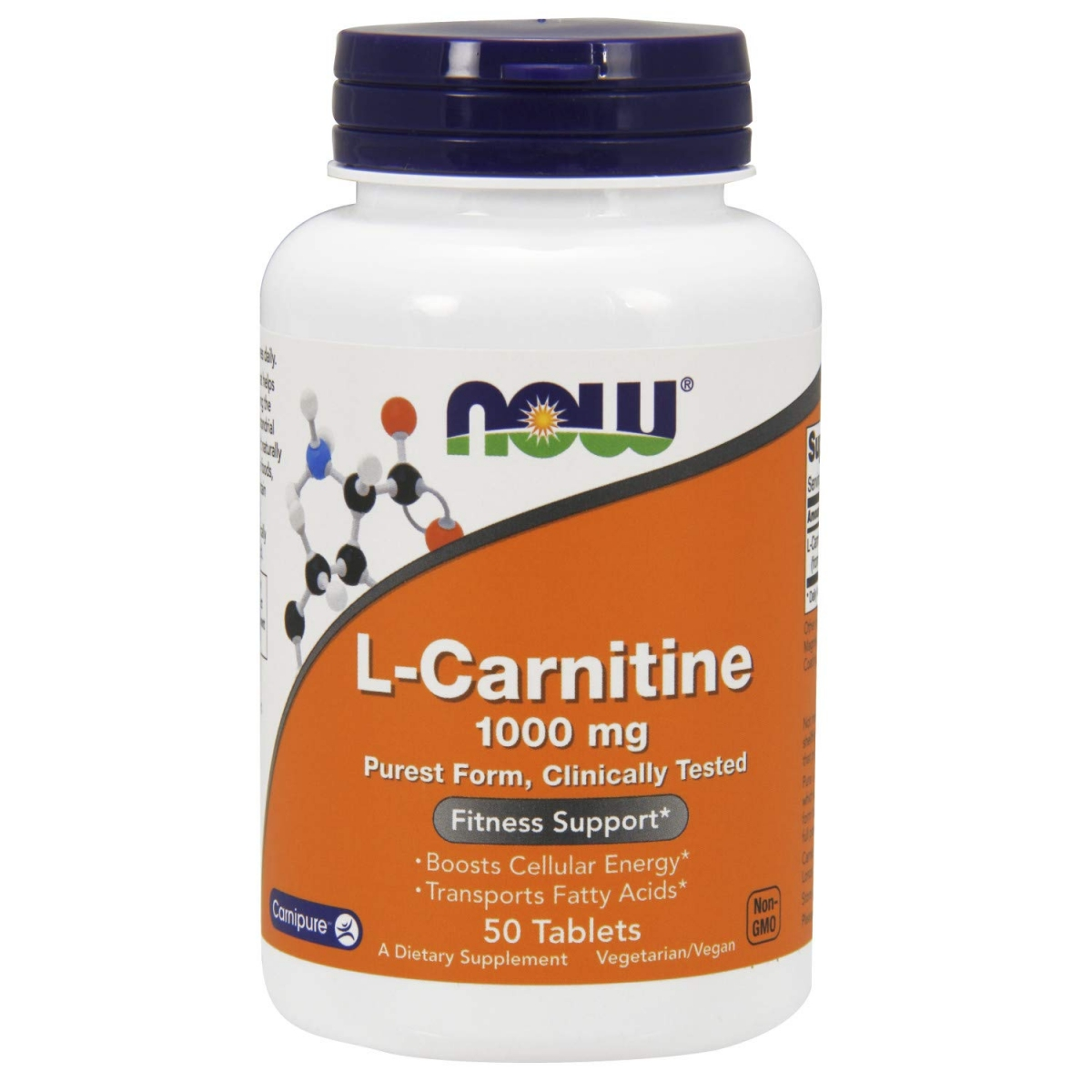 NOW L-carnitine 1000mg 50tabs
