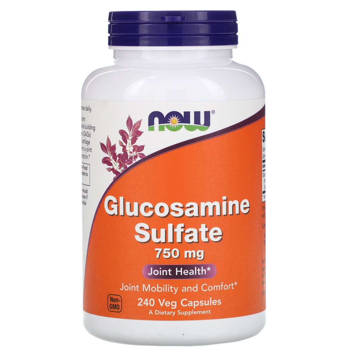 NOW Glucosamine Sulfate 750mg 240caps