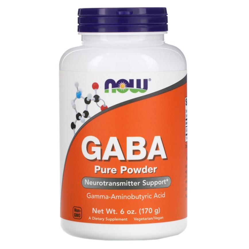 NOW Gaba Powder 170g