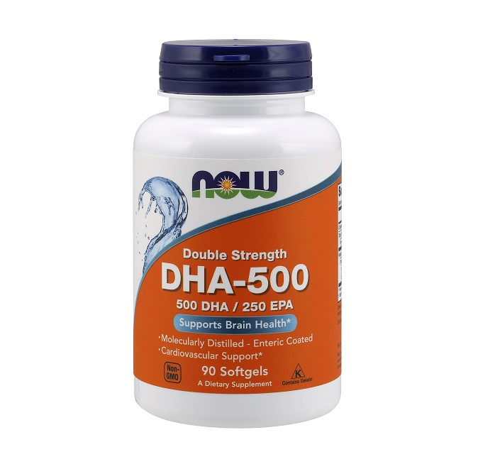 NOW Dha 500mg 90caps