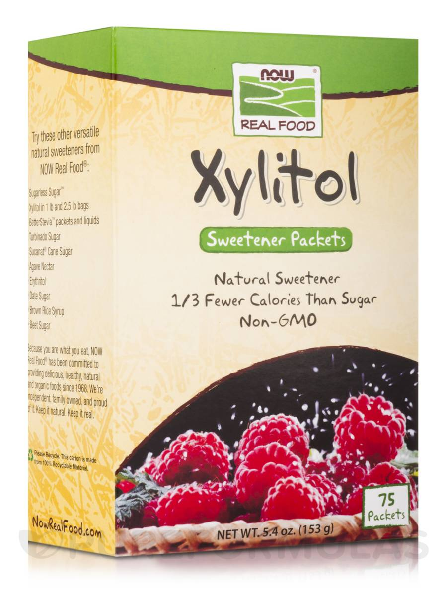 NOW Xylitol 75packs