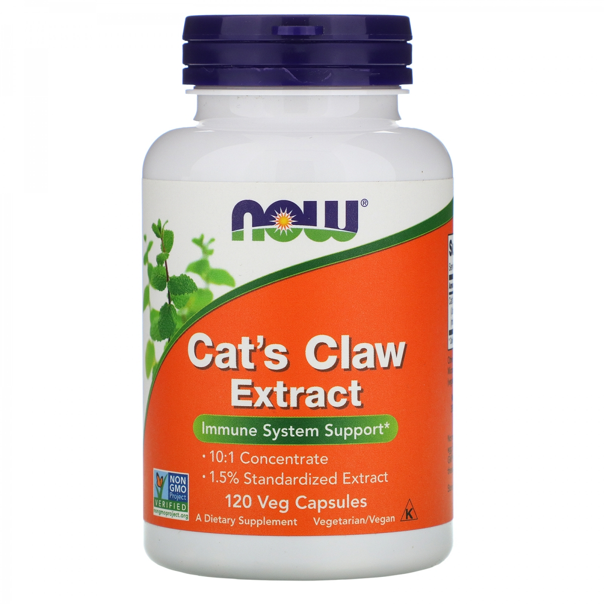 NOW Cat′s Claw Extract 120caps