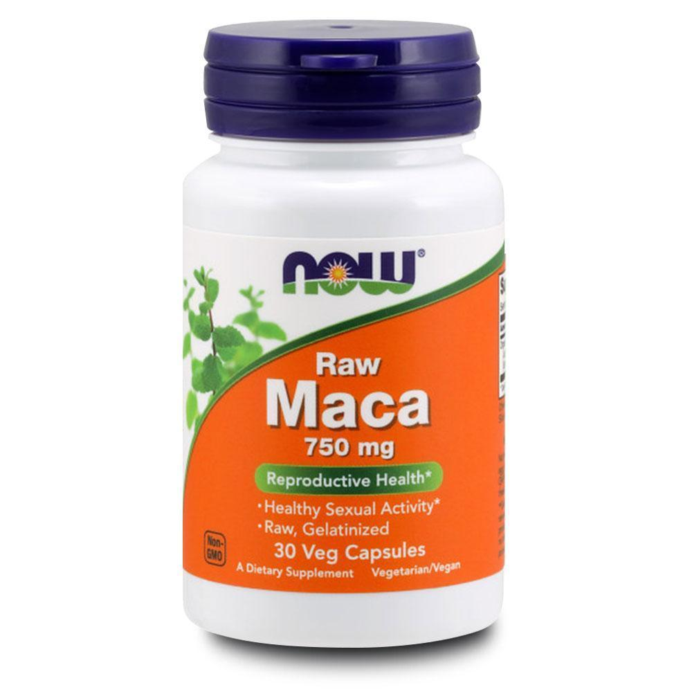 NOW Maca 750mg 30caps