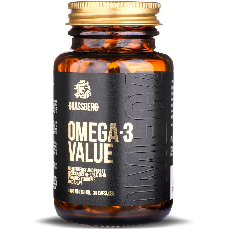 Omega-3 Value 1000mg 30caps