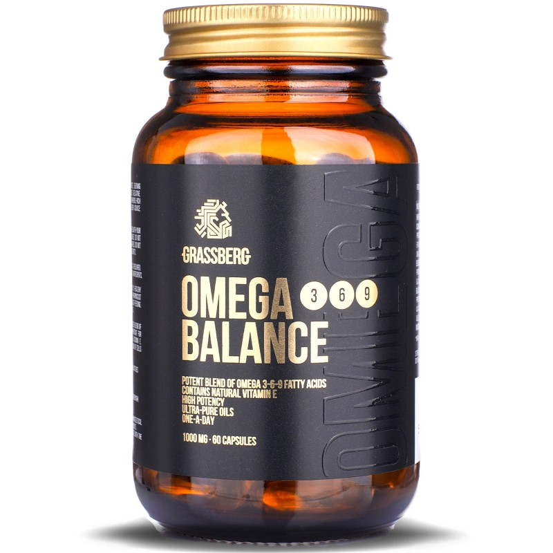 Grassberg Omega 3-6-9 Balance 1000mg 60caps