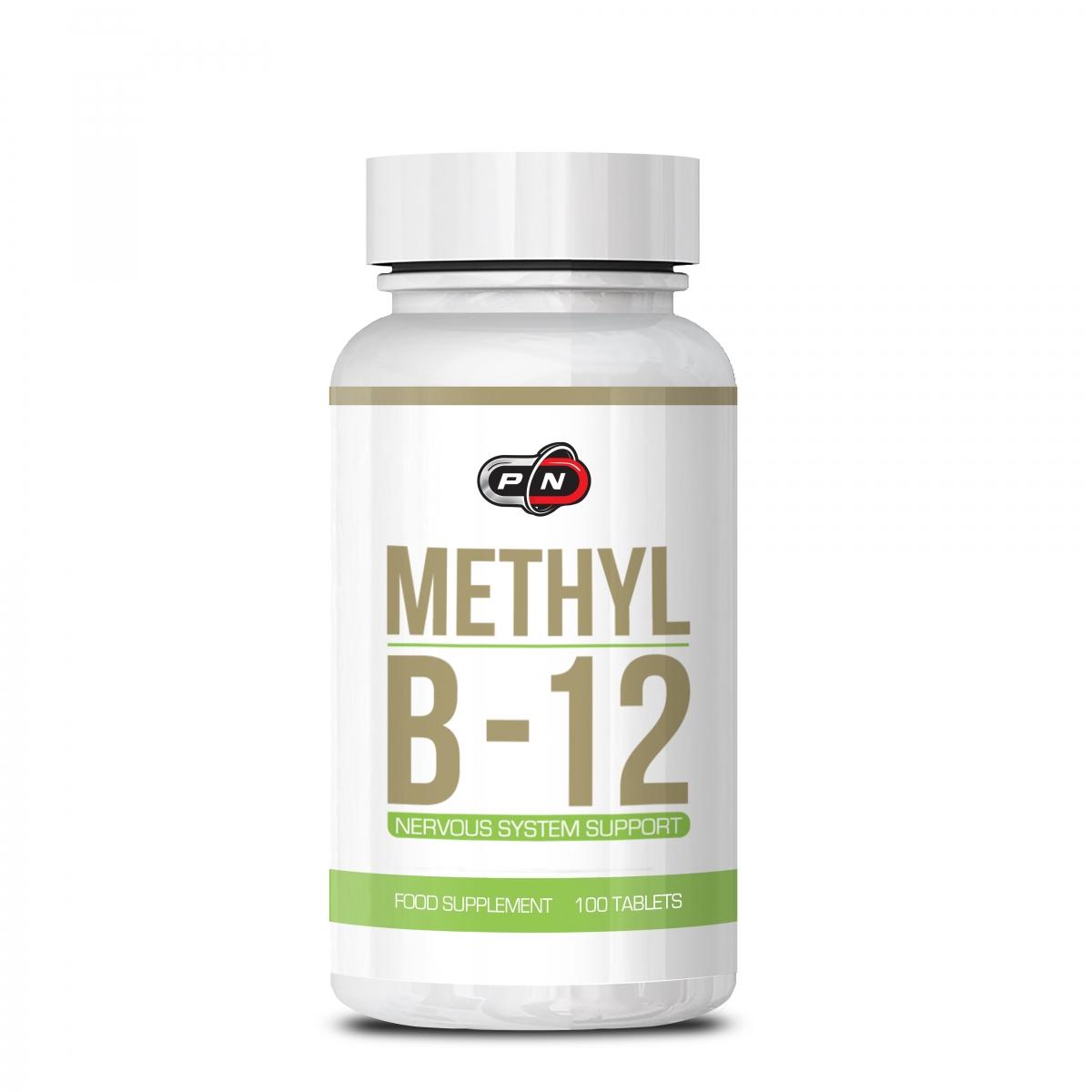Pure Nutrition Methyl B-12 2000mcg 100tabs