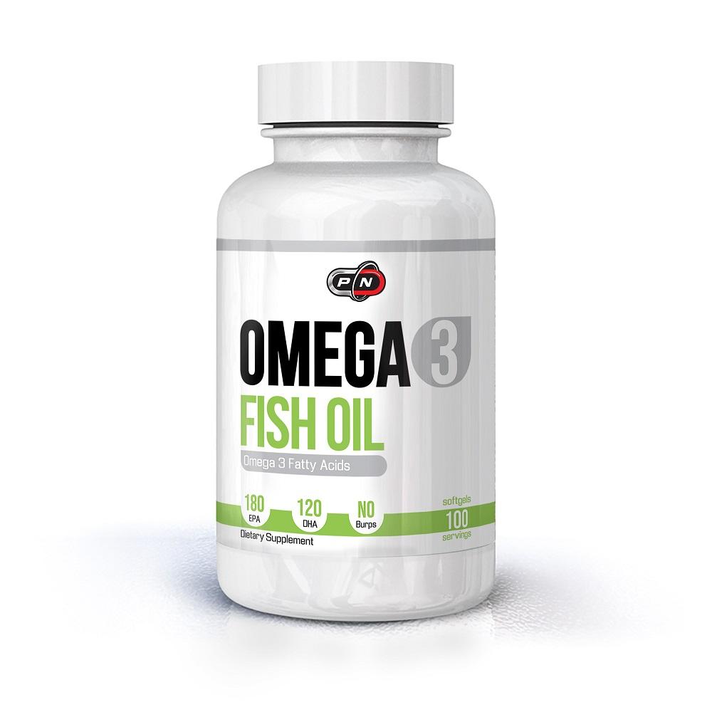 Pure Nutrition Omega 3 Fish Oil 180 Epa/120 Dha 100caps