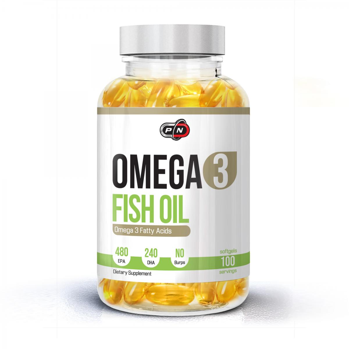 Pure Nutrition Omega 3 Fish Oil 100caps