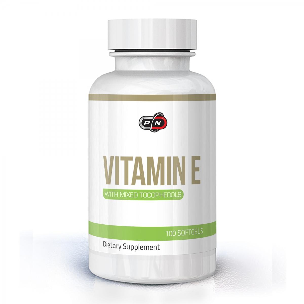 Pure Nutrition Vitamin E 400iu 100caps