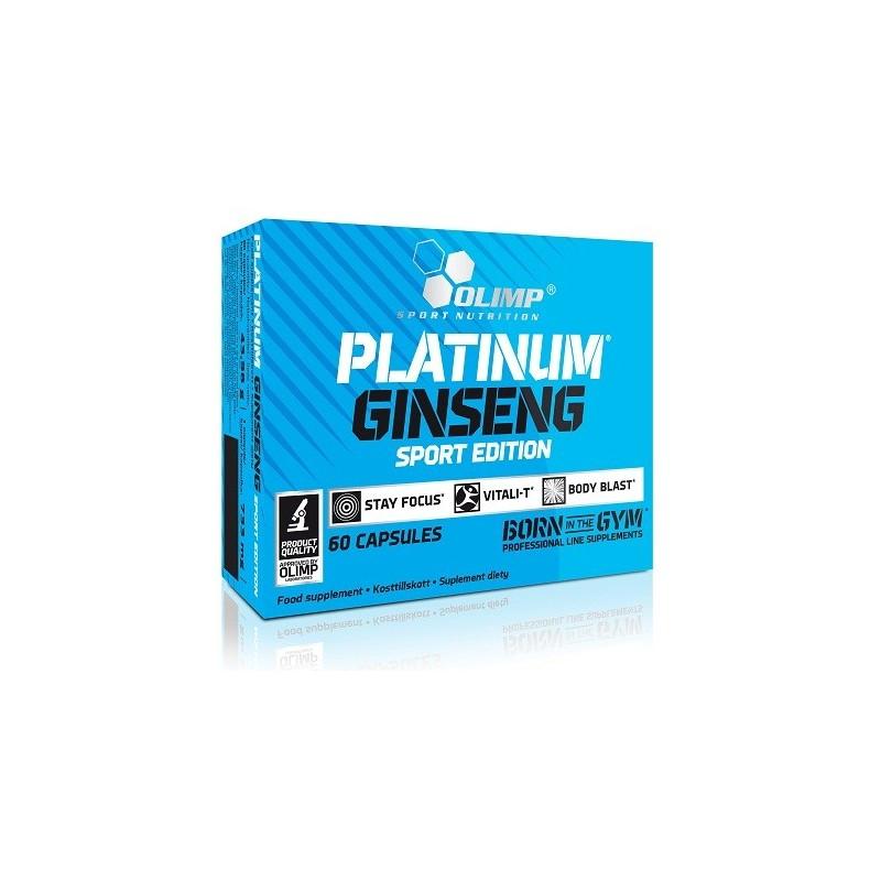 Olimp Platinum Ginseng™ Sport Edition 550 Mg 60 Capsules