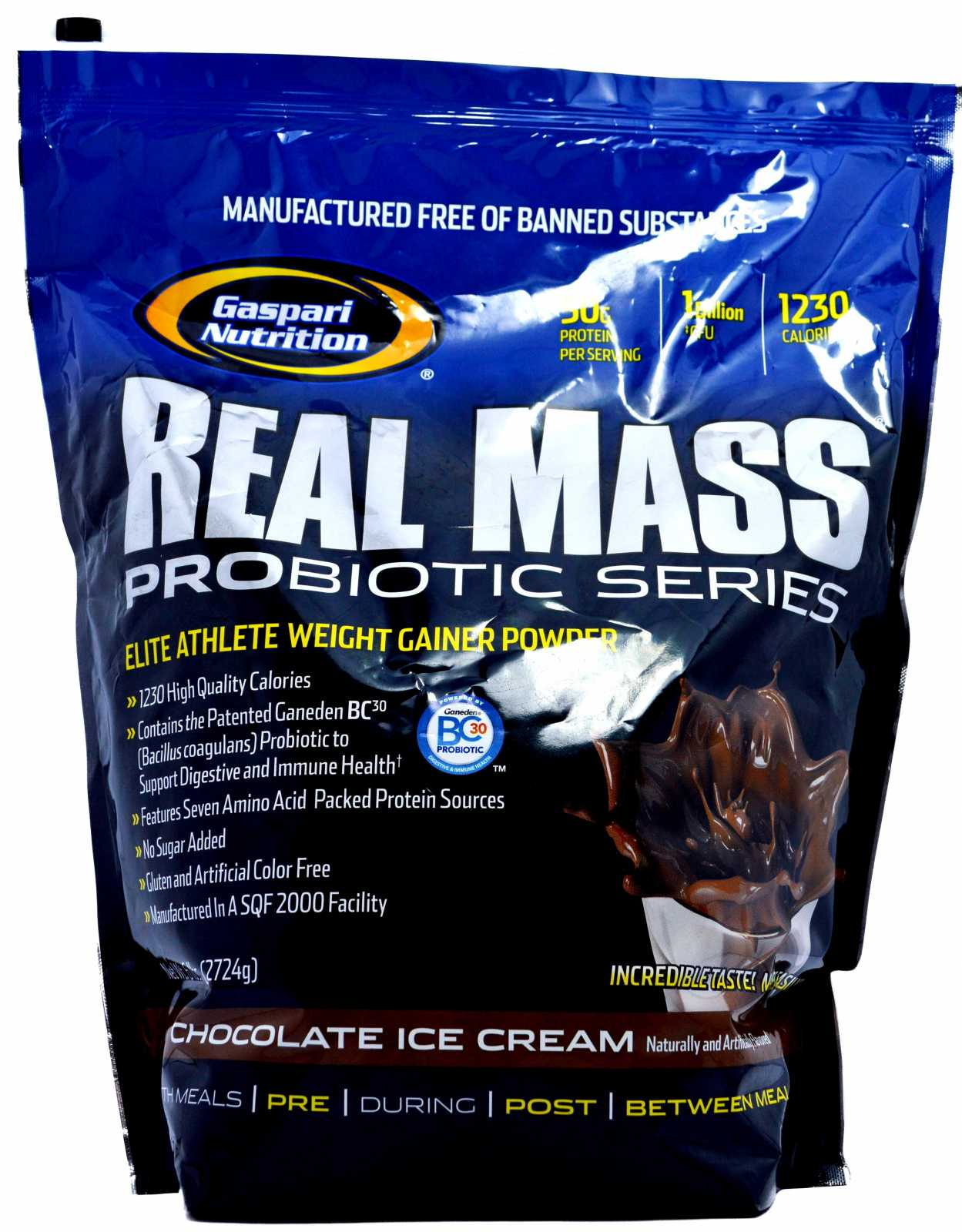 Gaspari Nutrition Real Mass Probiotic